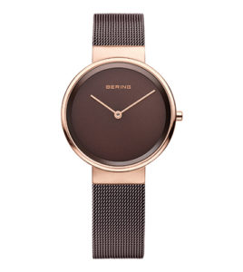 reloj bering brown