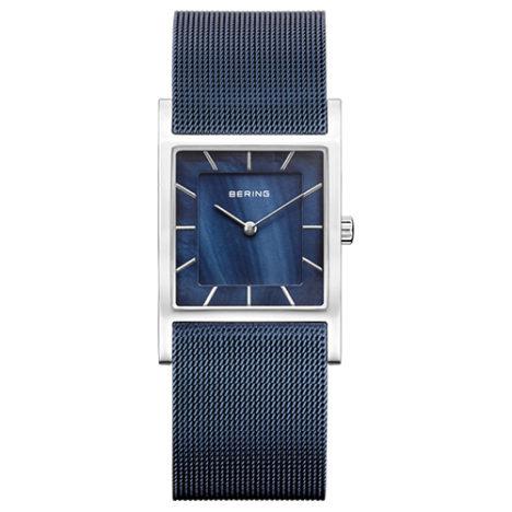reloj bering acero azul