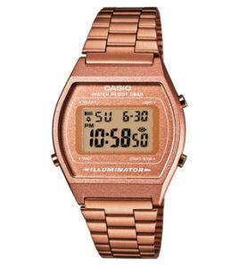 reloj casio rosa digital