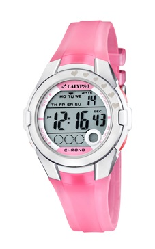 reloj digital rosa calypso