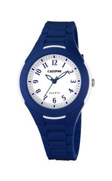 reloj calypso azul marino