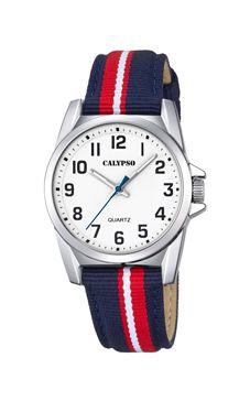 reloj rayas niño calypso marinero