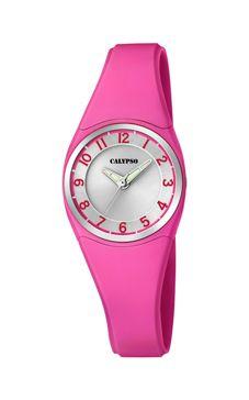 reloj calypso fucsia