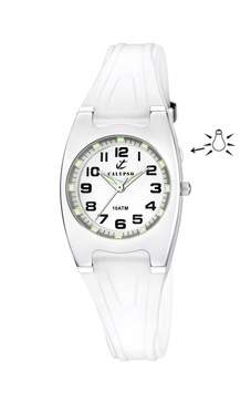 reloj calypso correa goma luz