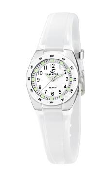 reloj calypso goma blanco