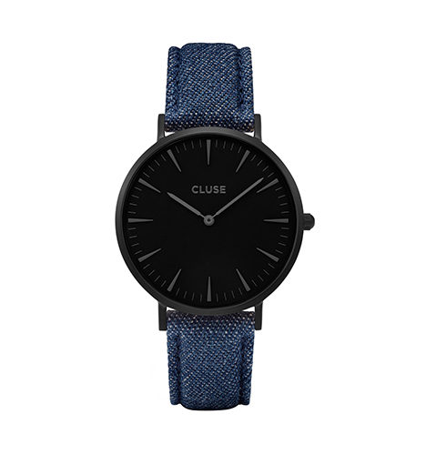 reloj cluse caja negra