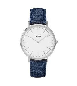 reloj cluse caja chapado acero