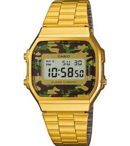 casio dorado digital militar