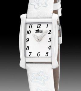 reloj lotus acero