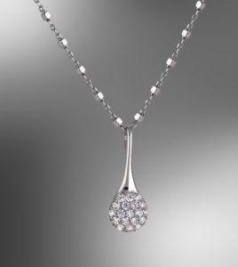 colgante lotus silver plata