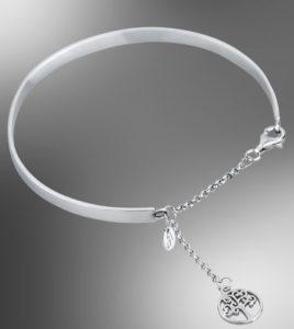 pulsera arbol vida lotus silver