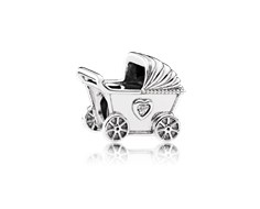 charm pandora carrito bebe