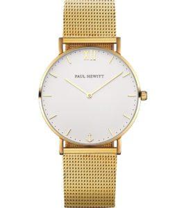 reloj paul hewitt dorado