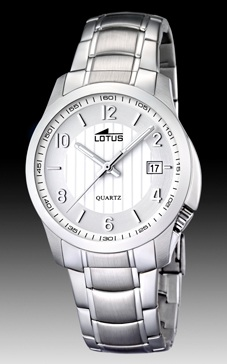 reloj lotus calendario