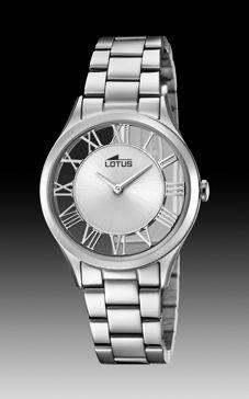 reloj lotus trasparente