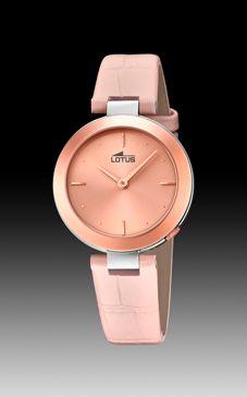 Relojes lotus mujer piel