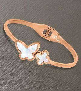 pulsera lotus style rouse mariposa