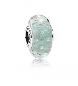 charm pandora cristal de murano