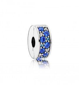 clip pandora piedras azules