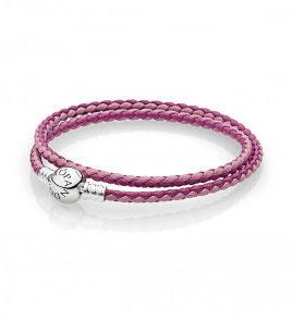 pulsera pandora rosa