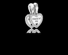 charm pandora amistad