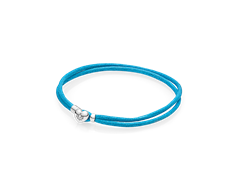 pulsera pandora azul turquesa