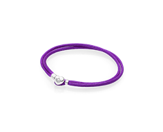 pulsera pandora lila