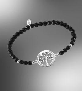 pulsera lotus silver arbol de la vida