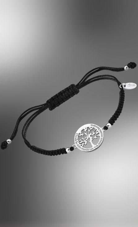 pulsera hilo lotus silver arbol