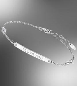 pulsera lotus silver i love you
