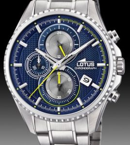 reloj lotus caballero cronometro