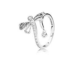 anillo pandora libelula