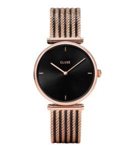 reloj cluse bicolor