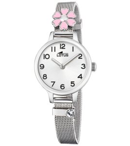 reloj lotus malla acero