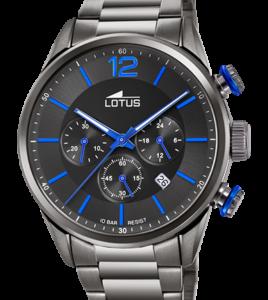 reloj lotus acero cronometro