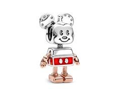 charm pandora mickey robot